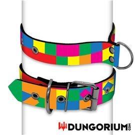 Personalisiertes Puppy Dog Halsband aus Neopren - Superbia
