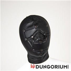 Mister B Sklaven Maske aus Leder