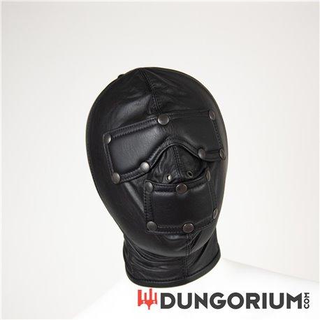 Mister B Sklaven Maske aus Leder-8718788012925