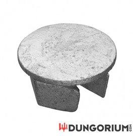 Stopfen aus Stahl - Dungotube Bondagesystem