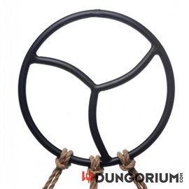 Black Triskelion Shibari Suspension Ring