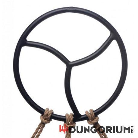 Black Triskelion Shibari Suspension Ring-8718858989768