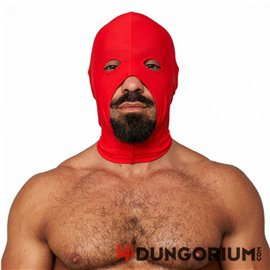 Lycra Maske red Cocksucker red