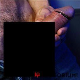 Edelstahl Eichelring schwarz