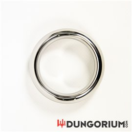 Premium Stahl Cockring Donut