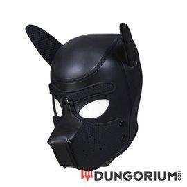 Neopren Hundemaske mit abnehmbarer Schnauze und formbaren Ohren