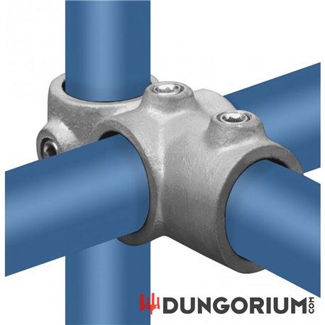 Kreuz-T-Stück kombiniert - Dungotube Bondagesystem