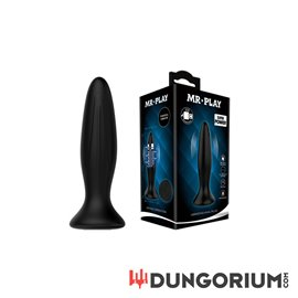 Vibrierender Anal Plug von Mr. Play