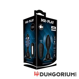 Aufblasbarer Classic Vibrator Anal Plug von Mr. Play