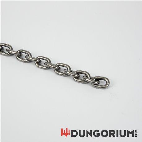 Massive Eisenkette 6 mm Stahl oder Edelstahl