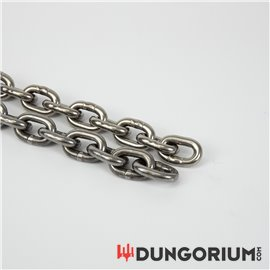 Massive Eisenkette 8 mm Stahl oder Edelstahl