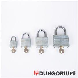 Lamellenschloss aus gehärteten Stahllamellen