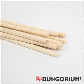 Geschälter Rohrstock 10 mm Durchmesser