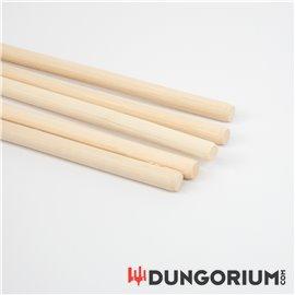 Geschälter Rohrstock 12 mm Durchmesser