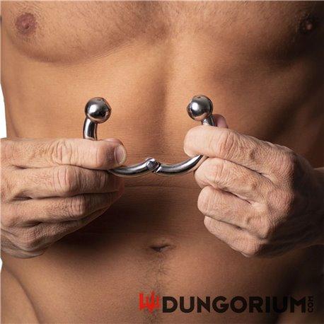 Penisring 10 mm dick - Magnetisch mit 2 Kugeln