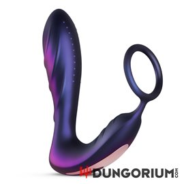 Hueman - Black Hole Analvibrator Mit Penisring