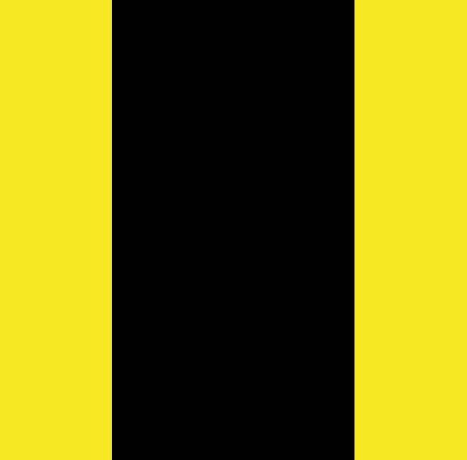 gelb-SCHWARZ-gelb