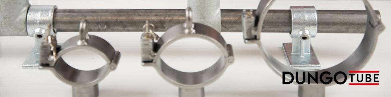 Dungorium Dungotube Bondagesystem mit Schellen und Verbindern